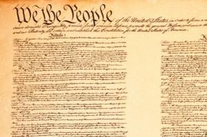United States Constitution - corner